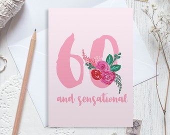 60th birthday card etsy personalised 60th birthday card 60 birthday card happy 60th birthday personalised birthday card bookmarktalkfo Image collections