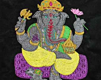 Ganesh Altar Cloth - Altar Cloth - Tarot Cloth - Crystal Grid Cloth - Tarot Spread Cloth - Ganesha - Altar Tools - Lord Ganesh