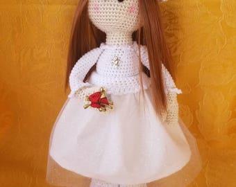 Lily, Crochet Doll