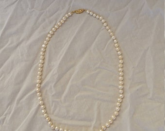 Gorgeous custom pearl necklace