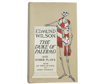 The Duke of Palermo and Other Plays by Edmund Wilson (1969) - Dust Jacket by Edward Gorey
