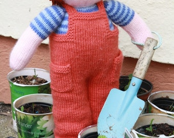PDF Knitting Pattern - Toddler Tom