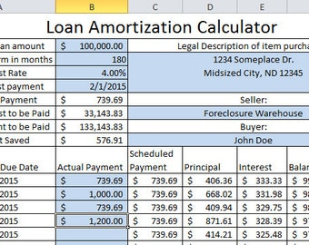 amortization calculator with dates