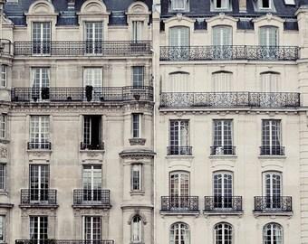 Paris Apartment, Paris Photography, Architecture Art, Fine Art Photography, Gray Wall Art, French Home Decor, Paris Print - L'Appart