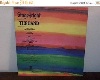 Vintage 1970 Vinyl LP Record Stage Fright The Band Near Mint Condition 13835