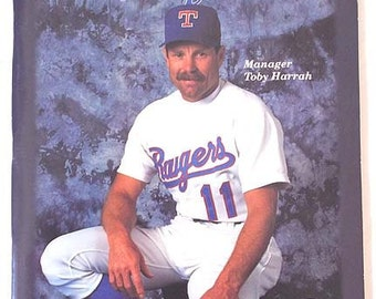 1992 Texas Rangers Baseball Program