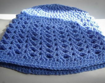 New handmade crochet baby hat size 0-3 months