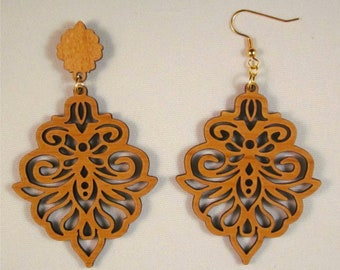 Sophia Earrings with French Wire or Post & Clutch