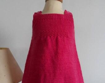 Fuschia - 3 month old daughter strap dress