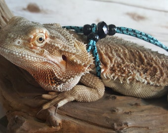 REPTILE LEASH ADJUSTABLE Leash harness - Adjustable to fit any size Leash come in 3ft and 6ft