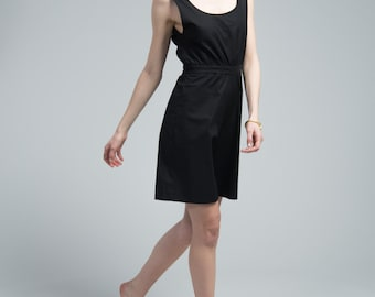 Black Jumpsuit / Women's Jumpsuit / Black Romper / Black Jumpsuit / Black Romper / Backless Jumpsuit / Marcellamoda - MP0683