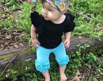 Flower Headwrap- Headwrap; Flower Headband; Flower Bow; Toddler Headband; Toddler Headwrap; Baby Head Wrap; Baby Headband; Baby Girl Turban