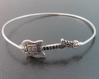 Guitar Bracelet, Guitar Jewelry, Rock Music Lover Gift Musician, Rocker Bracelet, Rocker Jewelry, Country Music Bracelet Rocker Chic Jewelry