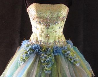 """Green Fairy Dress """"TuTu Sprite"""""""