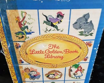 The little golden book library boxed set from 1970s