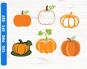 Pumpkin SVG Pumpkin cut file Pumpkin cricut design Digital files Commercial use svg