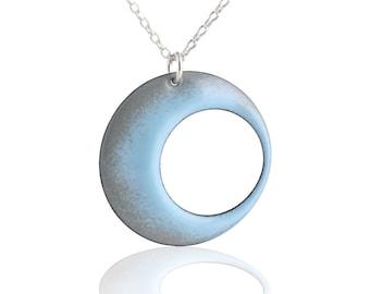 Blue Eclipse Necklace
