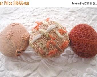 CLEARANCE - Coral/peach barrette, hair clip, hair accessory, hair barrette, ponytail holder