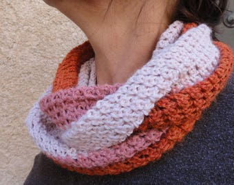 Neck scarf, Snood wool