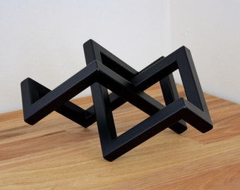 Infinity Welders Knot Table Art Piece