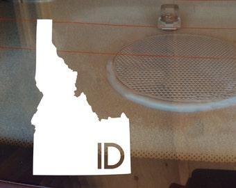 Idaho Car Decal, State Decal, Idaho Decal, Laptop Decal, Laptop Sticker, Car Sticker, Decal, Vinyl Decal, ID, Window Decal, Window Sticker