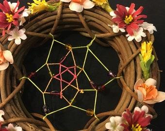 Colorful Wreath Dream Catcher