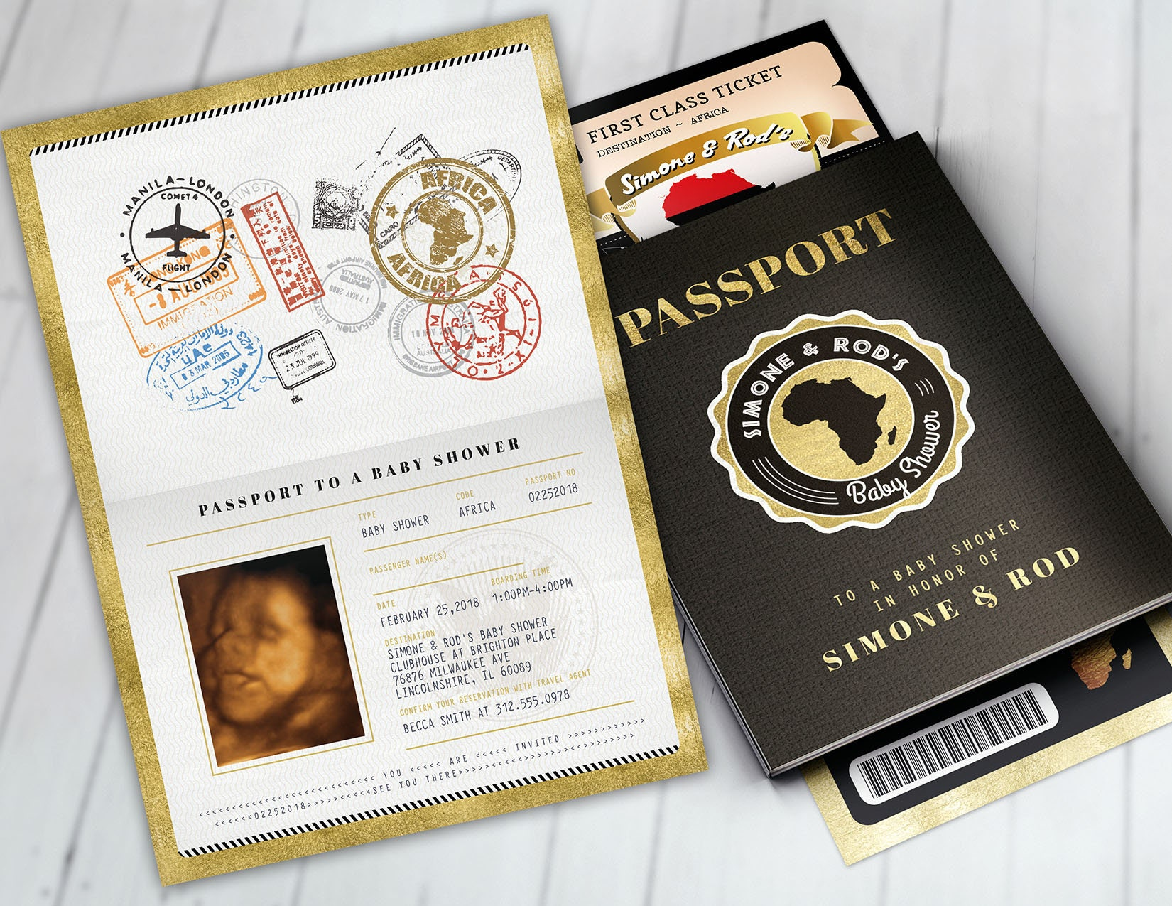 African passport ticket baby shower invitation birthday invitation african passport ticket baby shower invitation birthday invitationafrica passport african birthdayafrican birthday digital files only filmwisefo Image collections