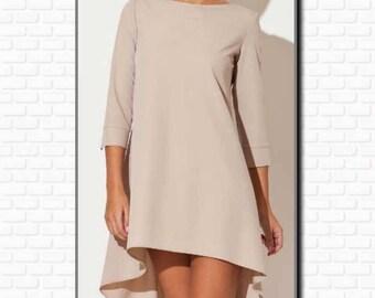 PDF Pattern, Dress, Woman, long sleeves, Cutting plan, Sewing pattern, Dressmaking, Modern pattern, Dress pattern, Fashion, Clothing,