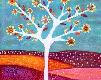 Abstract Tree Art Tree Print