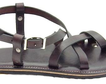 Men's Custom Leather Sandals Style 6