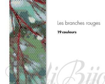 Les branches rouges - PATTERN