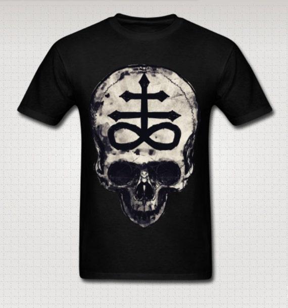 Crux Satanus Skull Tee shirt
