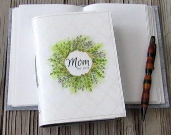 neue Mama Zeitschrift - Mama Blumenkranz Journal, Geschenke unter 30 von tremundo