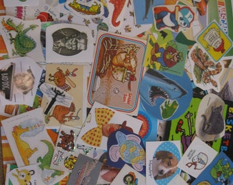 Large lot of stickers that boys would like 116 pieces!
