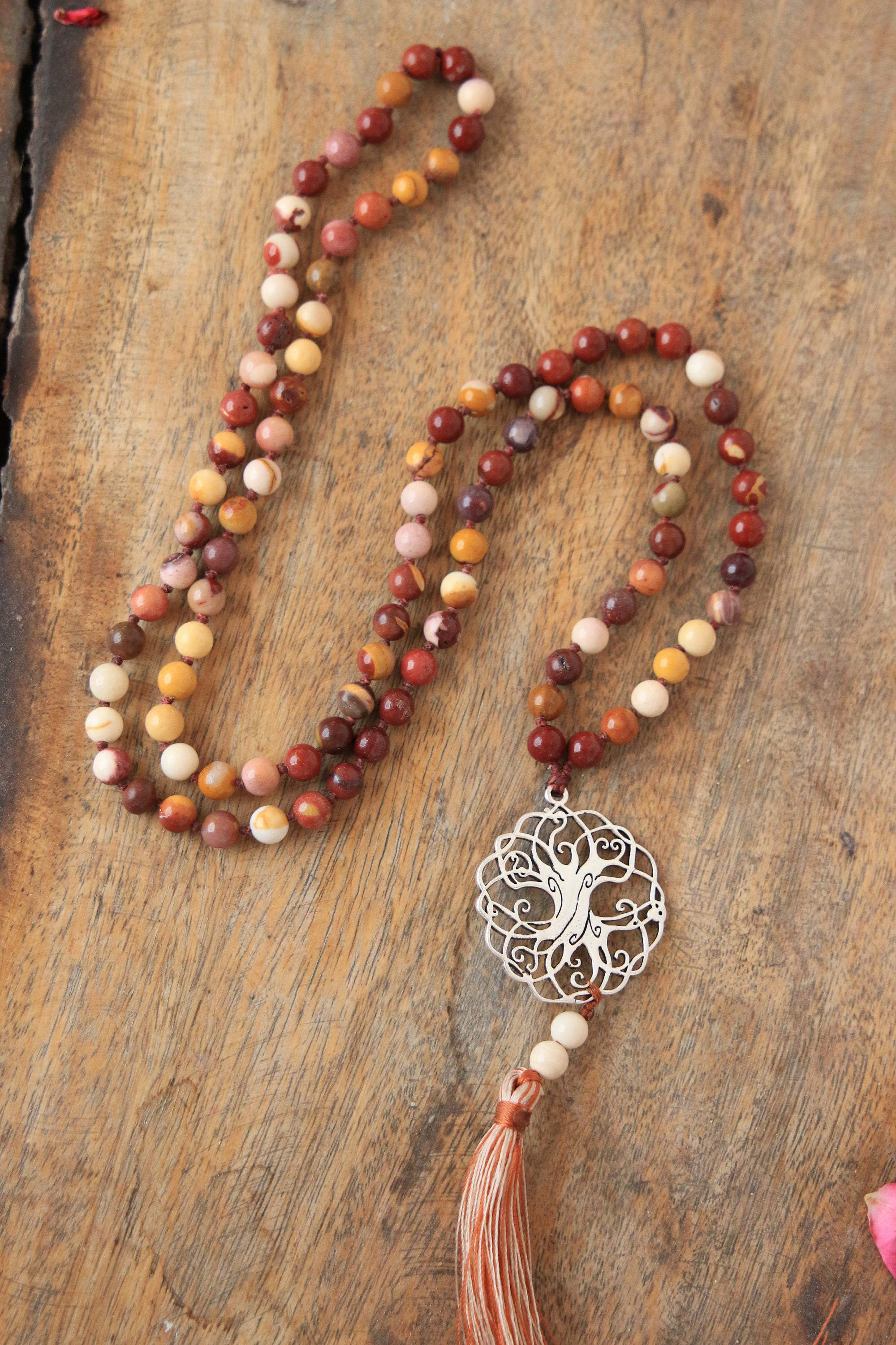 yoga mala serpentine necklace buddhist beads prayer kirtan shop