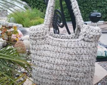 Crochet Sturdy Tote Bag