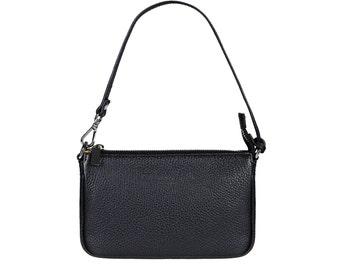 Evening Bag Cross Body Bag Leather Handbag BARI Black for Women by FERDINAND SABAC. Genuine Italy Leather Handbag Clutch Shoulder Bag Modern