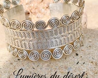 Sterling Silver Bohemian Berber woman bracelet