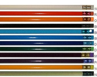 ezpencils - Personalized Hexagon Pencils - 12 pkg - ** FREE 1 LINE PERZONALIZATION **