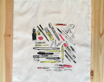 NEW - Drawing Supplies Tote
