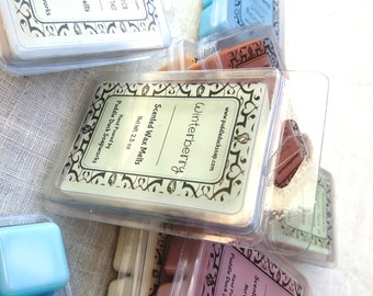 Winterberry Wax Melts - Berry, peppermint and cinnamon home fragrance