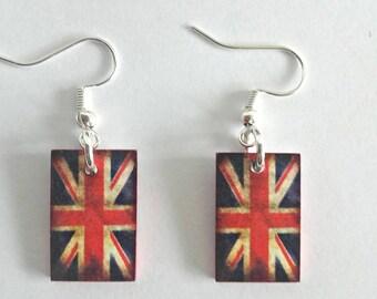 Earring British flag