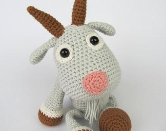 Goat Lisa - Amigurumi Crochet Pattern / PDF e-Book / Stuffed Animal Tutorial