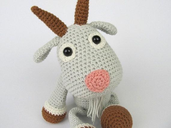 Amigurumi Magazine Pdf : Goat lisa amigurumi crochet pattern pdf e book stuffed