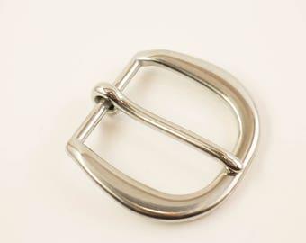 Belt Buckle 1 1/2 Inch Stainless Steel