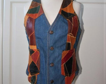 1970s Cowgirl Vest