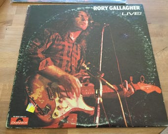 Rory Gallagher live 1972 on Polydor Records original