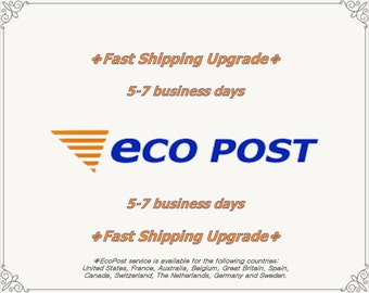 EcoPost Fast Shipping Service Upgrade