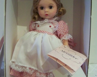 red and white wishes madame alexander 8 in doll