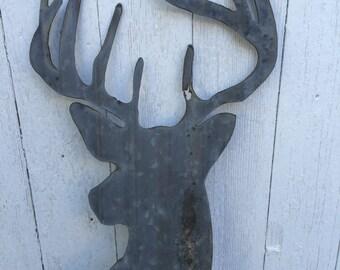 Rustic Deer Head